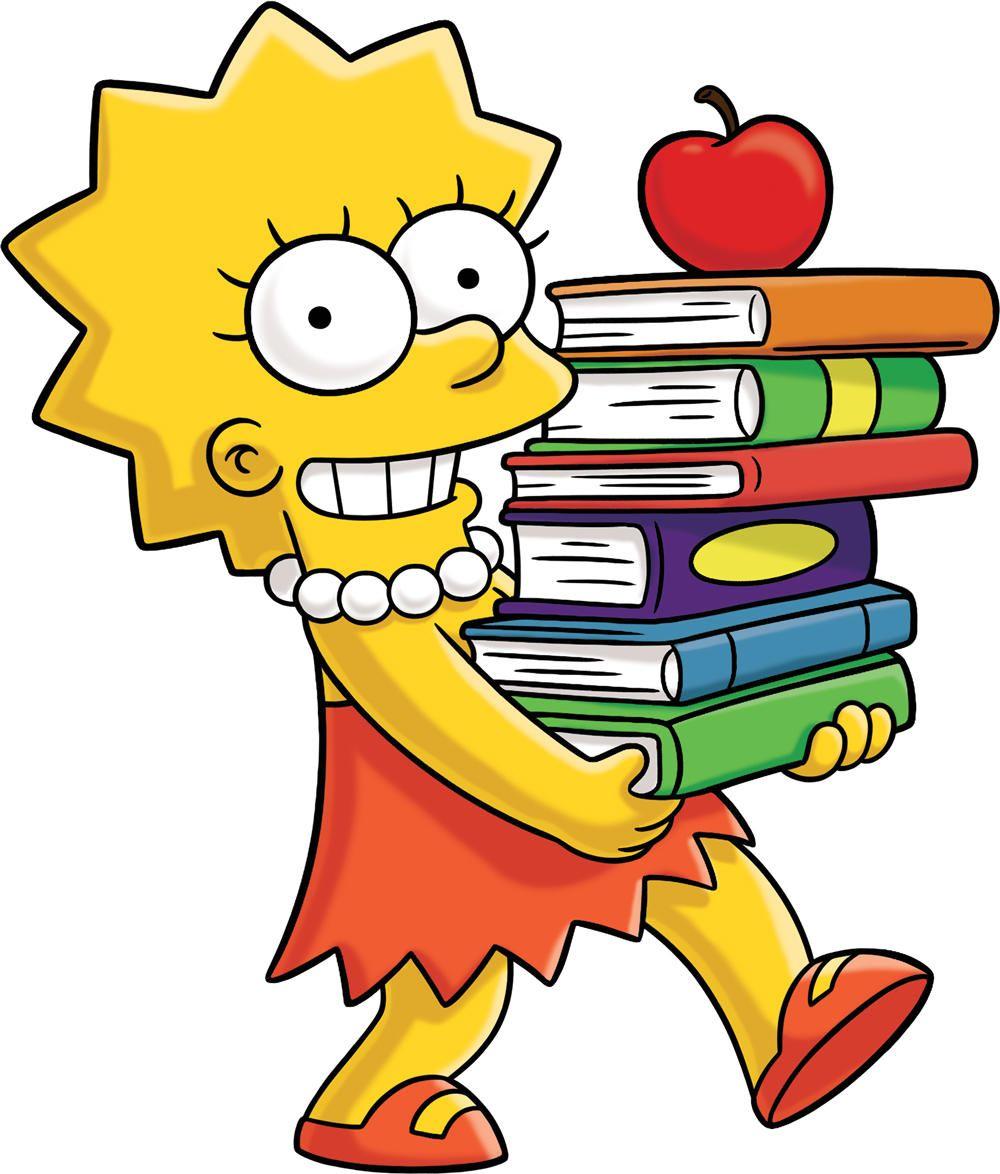 1000x1174 The Simpsons Clipart Lisa Simpson'90792