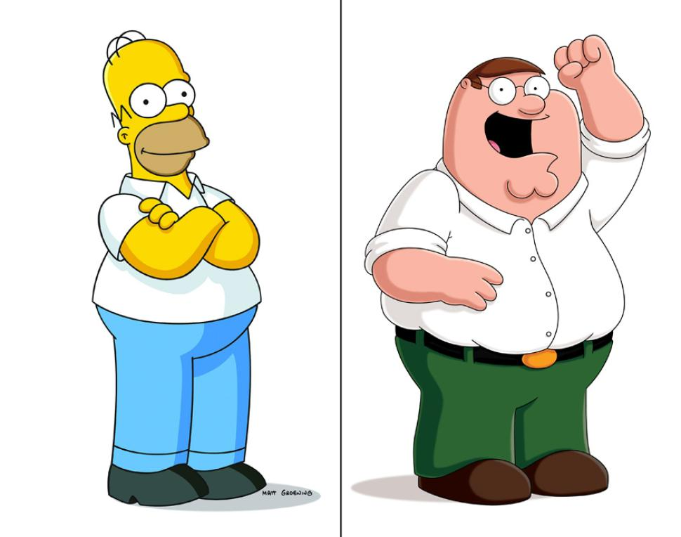 970x764 The Simpsons Live Clipart