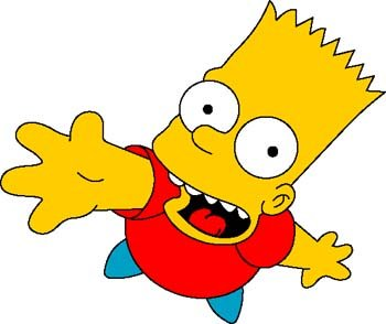 350x294 Free Bart Simpson 1 Clipart And Vector Graphics