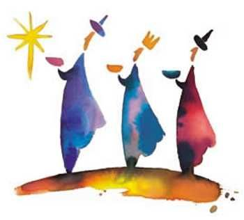 The Three Kings Clipart