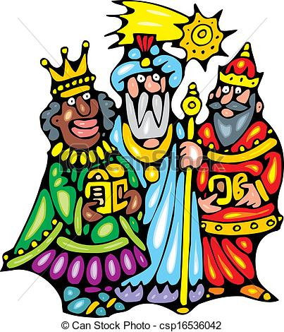 403x470 Nice Three Kings Isolated On White Background Eps Vector