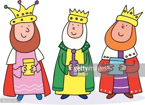 487x352 Three Kings Premium Clipart