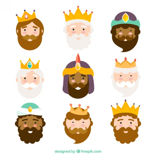 626x626 Three Kings Of Orient, Characters Vector Free Download