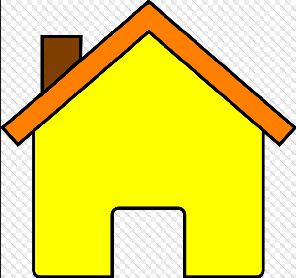 601x565 Modern House Outline Clip Art Images Free Download