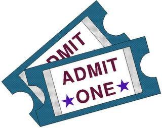 320x254 Clipart Theatre Ticket