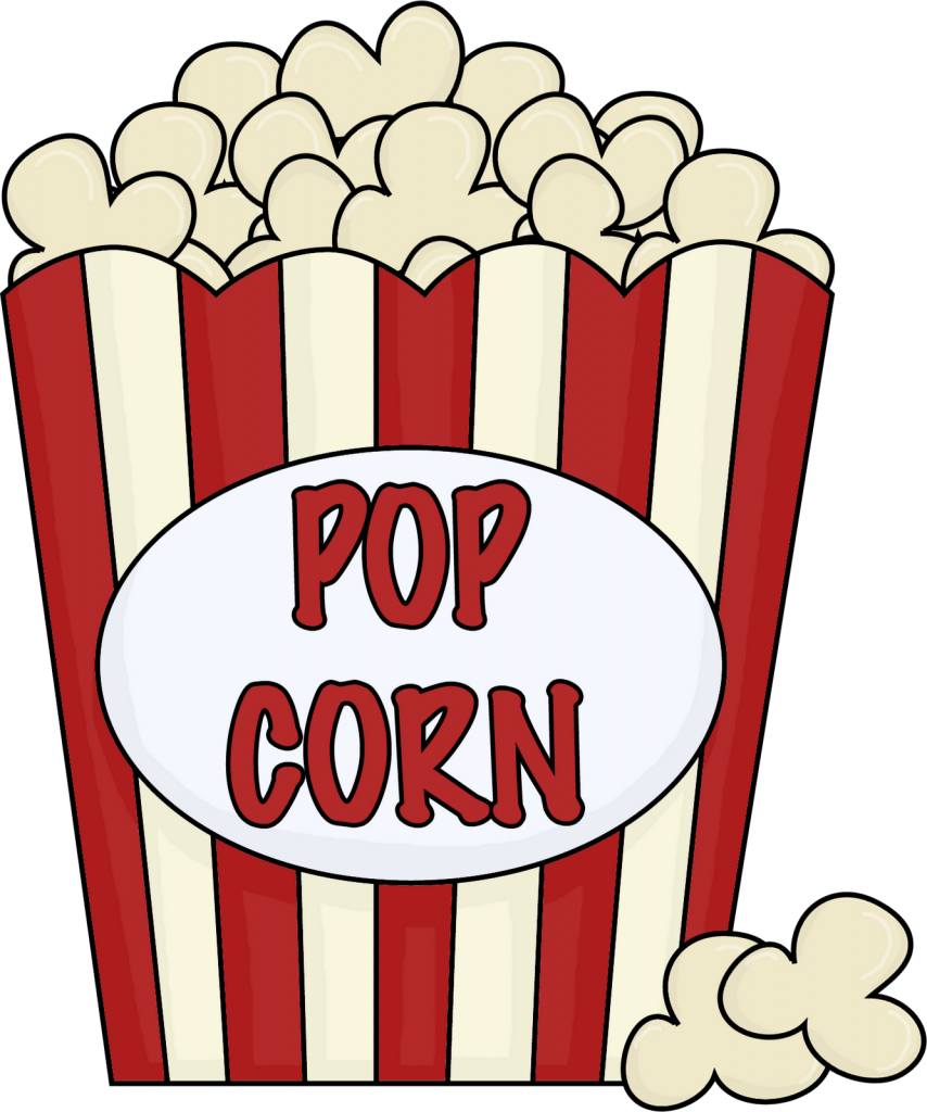 854x1024 Collection Of Movie Theater Popcorn Clipart High Quality