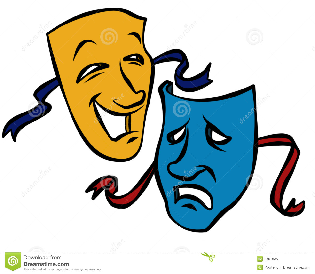1300x1130 Theater Masks Clipart