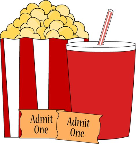 470x500 Animated Clipart Of A Movie Theater