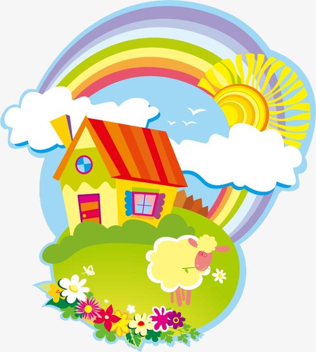 650x724 Cartoon Theme Park, Cartoon, Paradise, Garden Png And Vector
