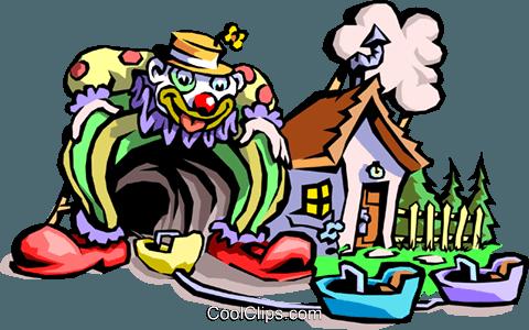 480x300 Theme Park Royalty Free Vector Clip Art Illustration Cart2157