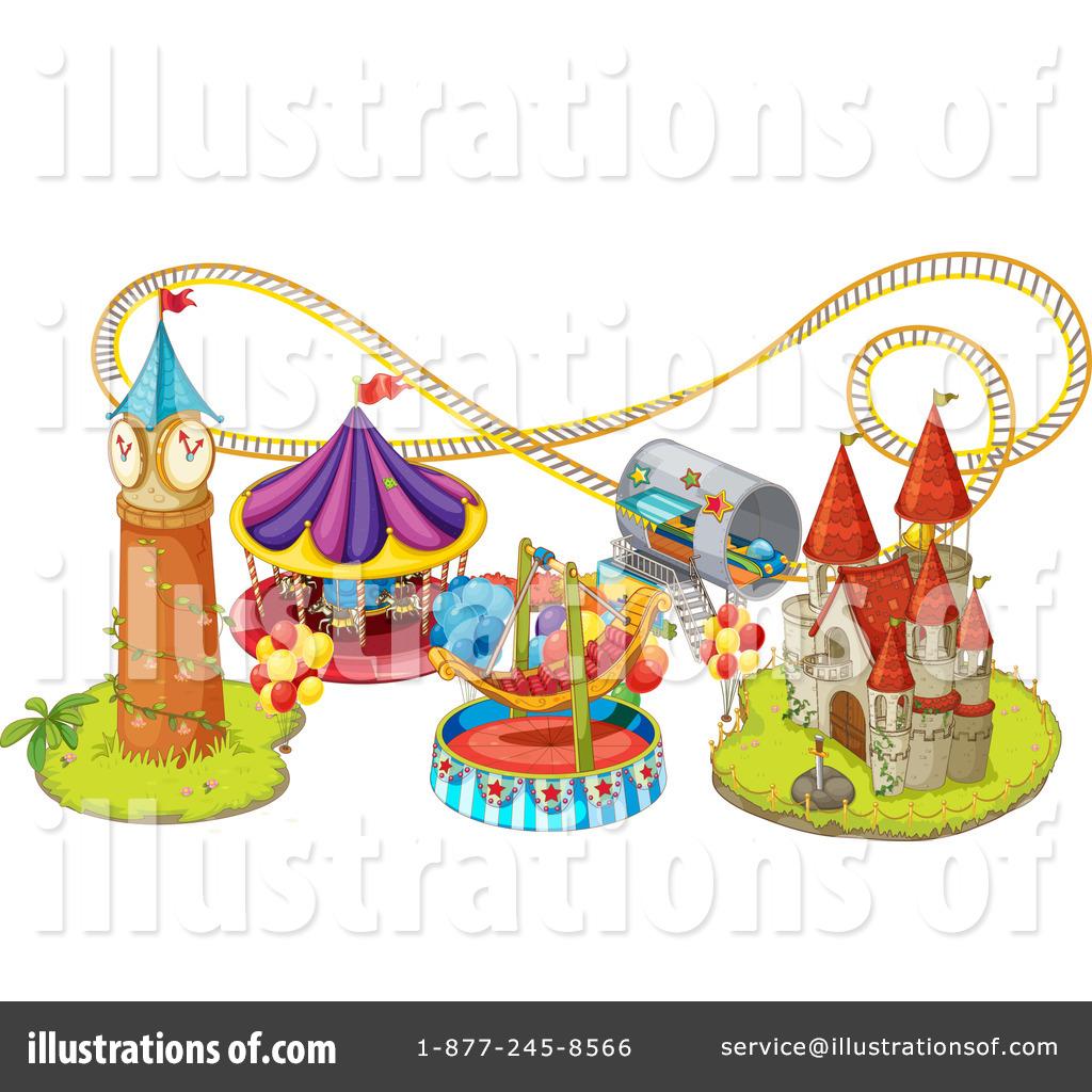 1024x1024 Amusement Park Clipart