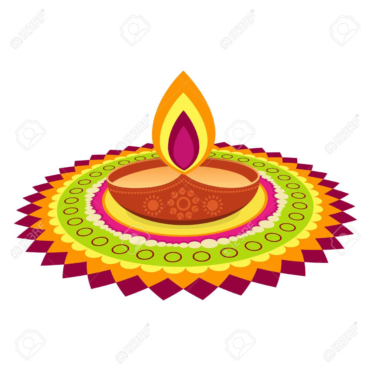1300x1300 Diwali Clipart Indian