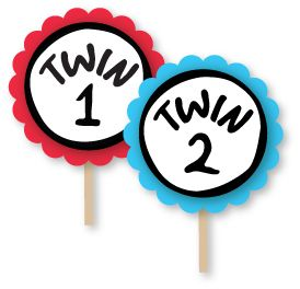 Thing One And Thing Two Clipart