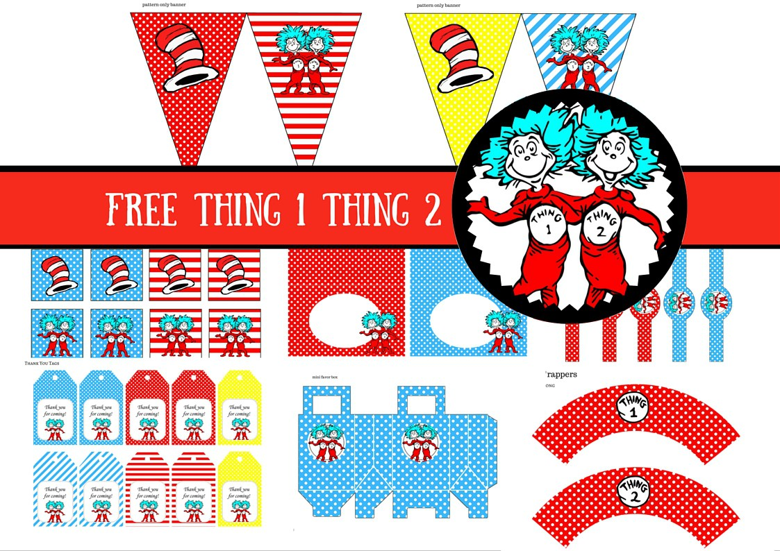 1123x794 Amazing Dr Seuss Birthday Invites Component