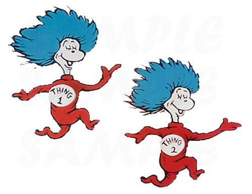 500x386 Baby Shower Cake Toppers Twins Luxury Thing One Thing Two Dr Seuss