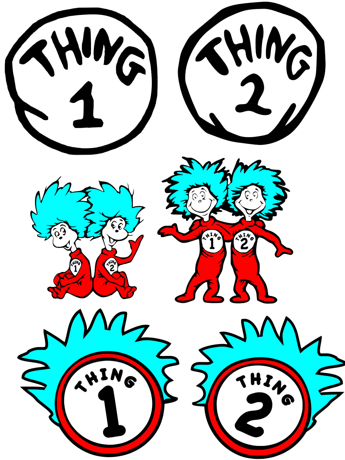 1202x1600 Dr Seuss Png Hd One Fish Two Clipart Free Clip Art Images Image 6