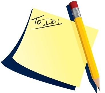 367x324 Things To Do List Clipart Clip Art Bay Regarding Things To Do