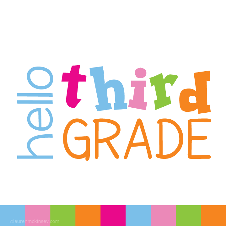 720x720 Complete Collection{Hello Third Grade For Girls} Lauren Mckinsey