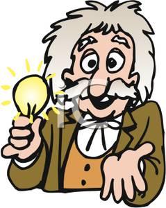 239x300 Clip Art Image Thomas Edison With A Light Bulb