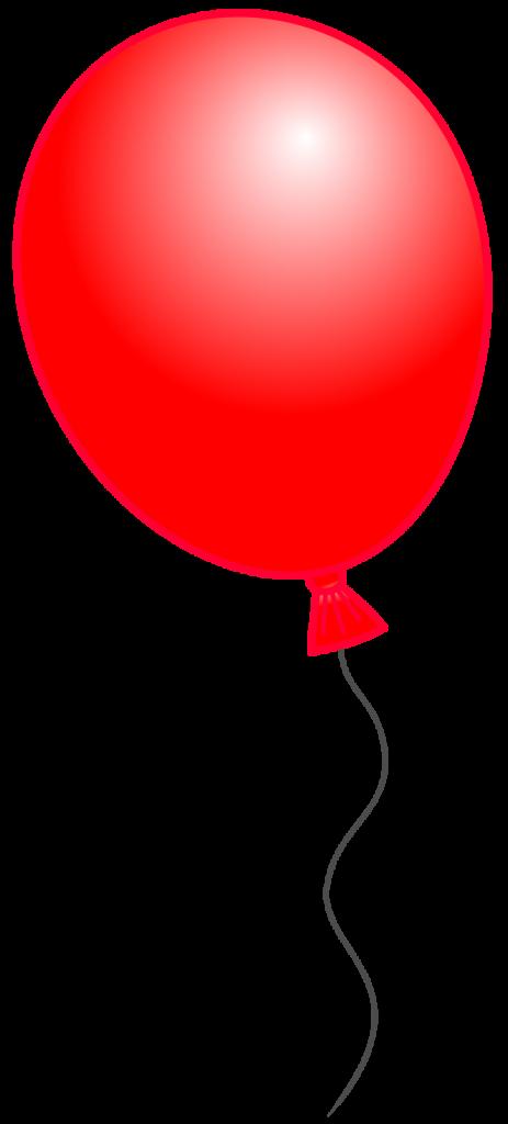 463x1024 Balloon Clipart