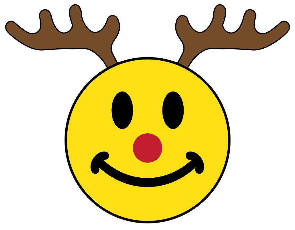 1033x804 Christmas Smiley Face Clip Art