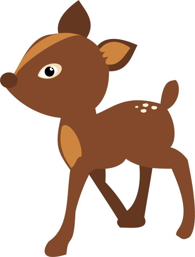 683x900 Deer Clipart Snow White
