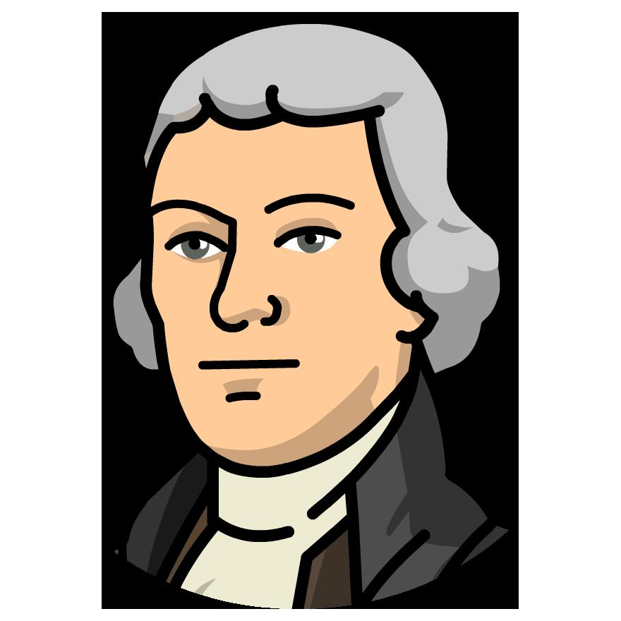 880x880 Thomas Jefferson Clipart