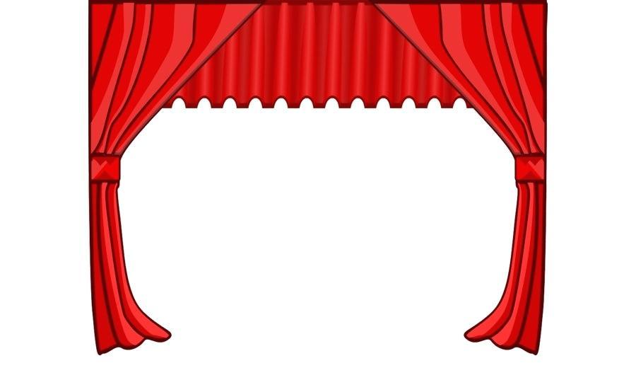 900x520 Window Art Curtains Talent Show Royalty Free Clip Art Curtains