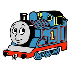 236x236 Free Printable Train Coloring Pages For Kids Birthdays