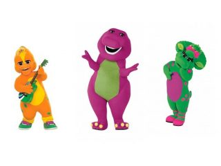 320x240 Barney And Friends Characters Pictures Barney Angelina Ballerina