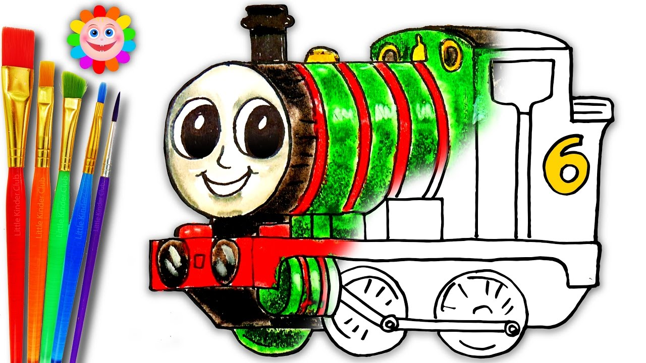 Thomas The Tank Engine Colouring Pages at GetDrawings.com | Free for ...
