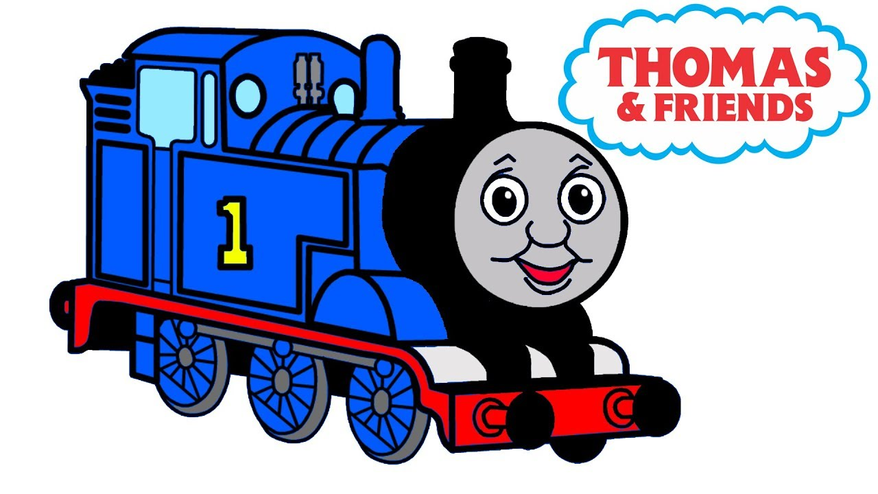 1280x720 How To Draw Train Thomas From Cartoon The Thomas And Friends