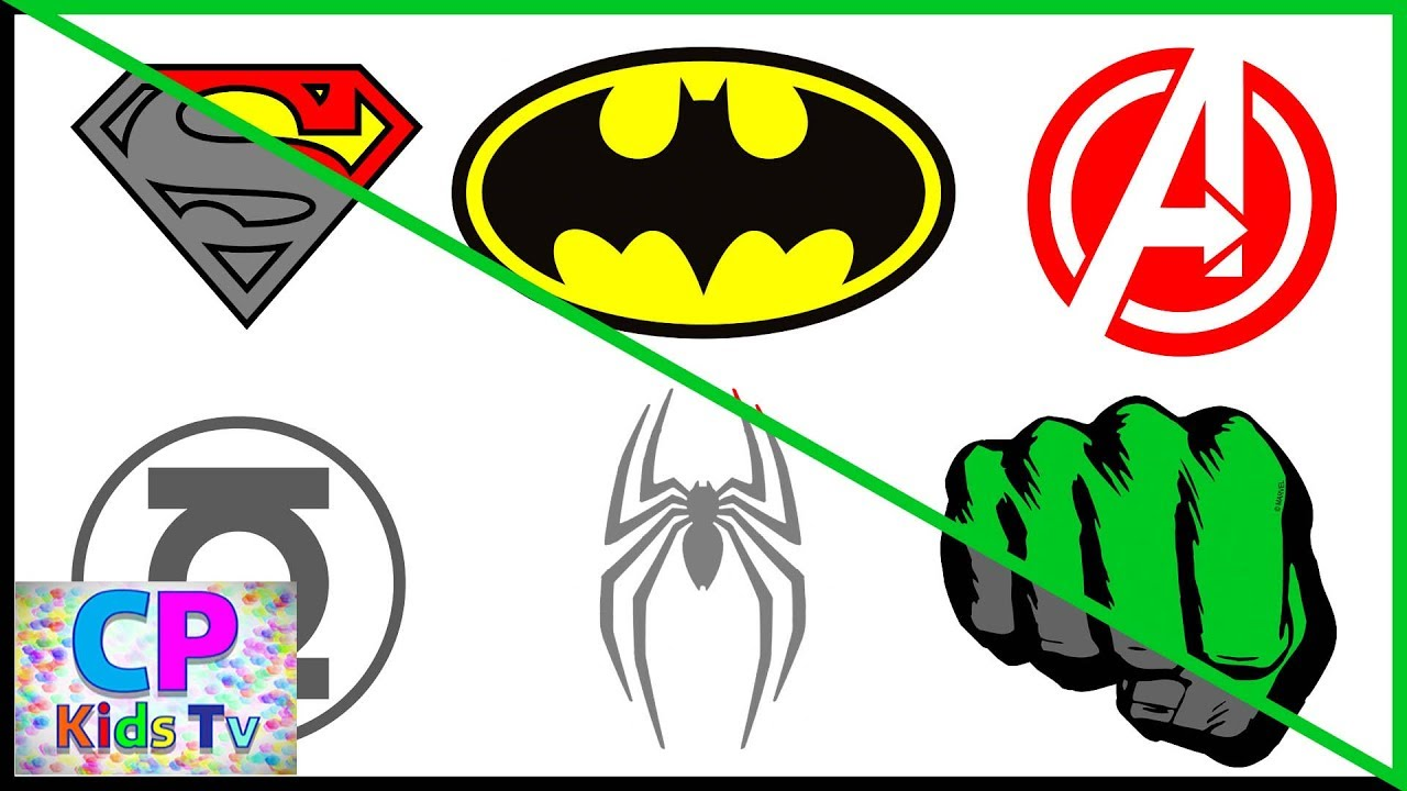 1280x720 Superheroes Logo Coloring Pages Part 4 , Superheroes Coloring