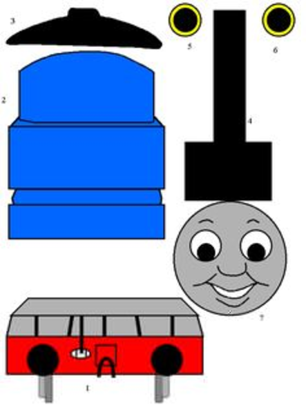 443x600 Thomas Adn Friends Clipart Free Images