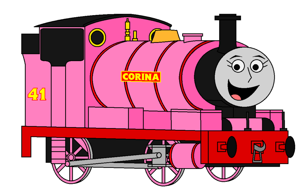 1024x654 Corina The Pink Saddle Tank Engine, For Percyfan94 By