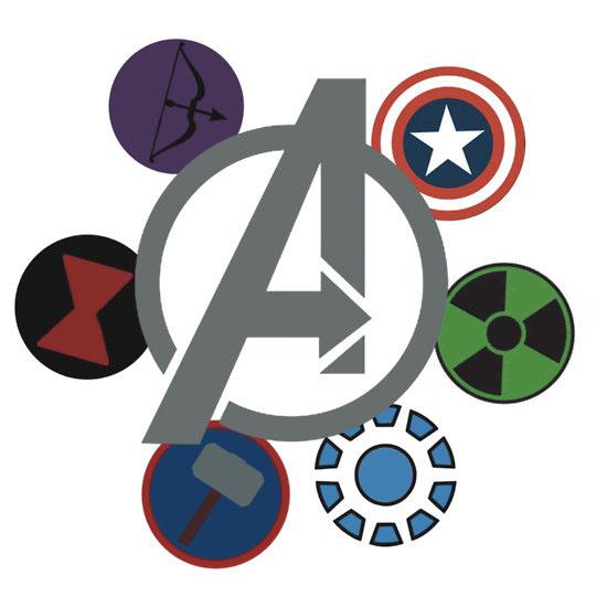 550x550 Thor Clipart Avenger Logo