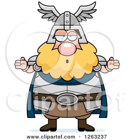 450x470 Clipart Of A Black And White Cartoon Sad Depressed Chubby Thor