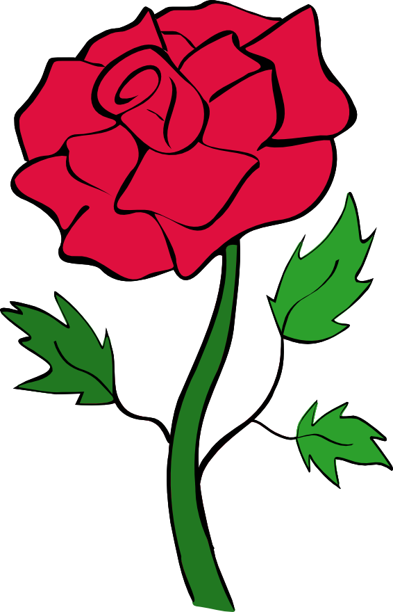 566x880 Clip Art Roses With Thorns And Dead Vines Clipart Panda