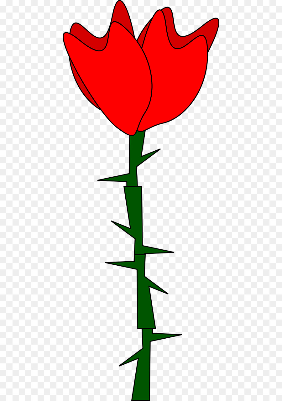 900x1280 Thorns, Spines, And Prickles Rose Drawing Clip Art