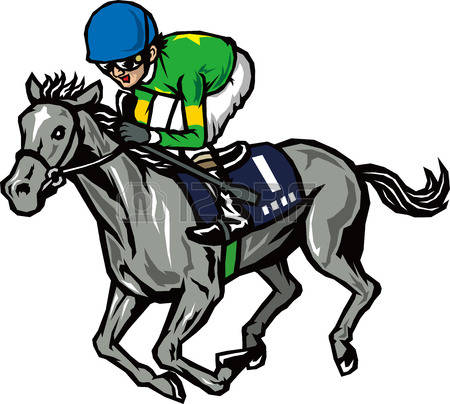 450x404 Horse Racing Clipart Thoroughbred