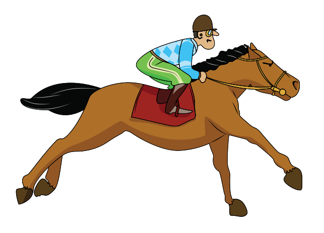 643x463 Thoroughbred Horse Racing Jockey Clip Art
