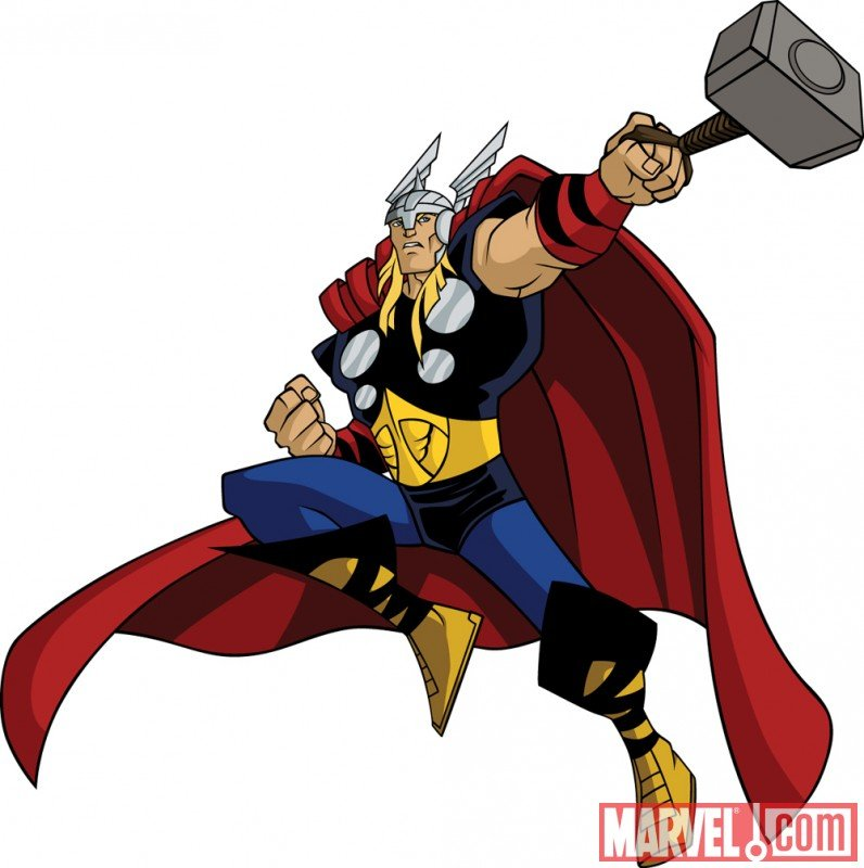 Thors Hammer Clipart