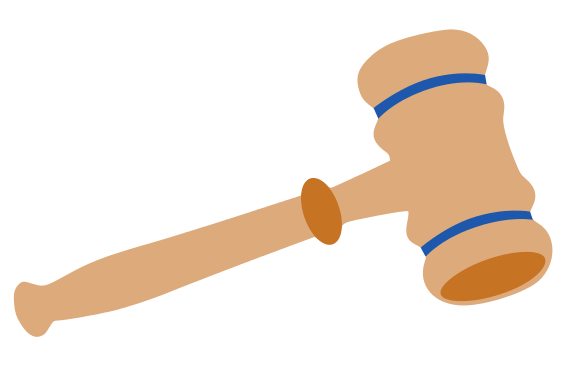 566x369 Collection Of Judge Hammer Clip Art High Quality, Free