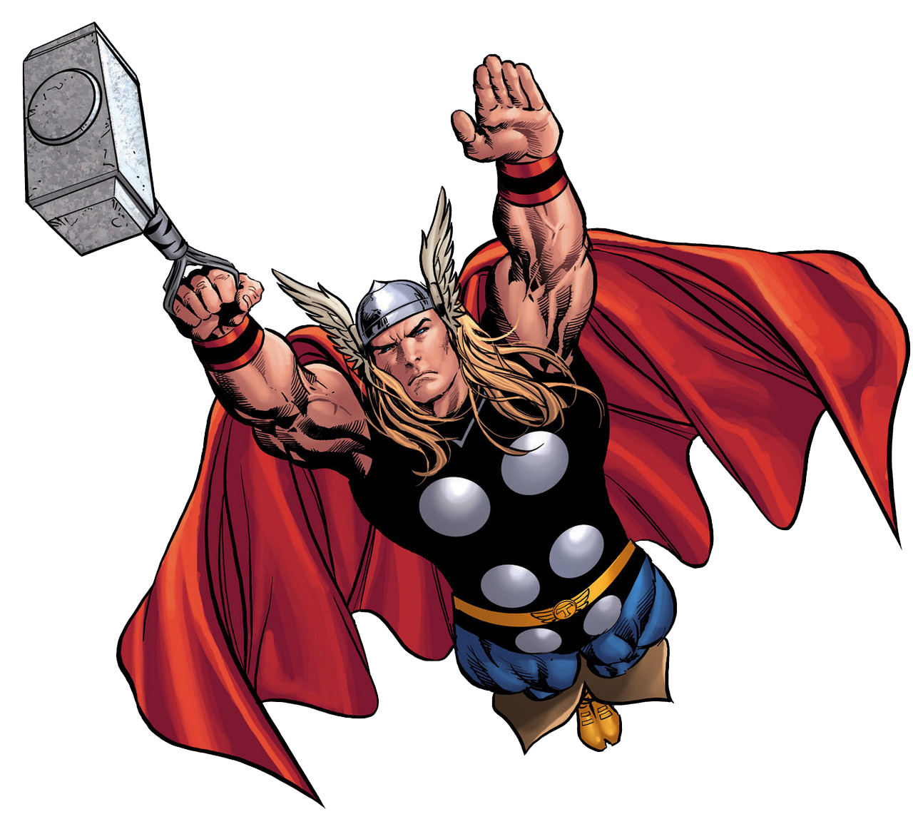 1280x1155 Clipart Of Thor