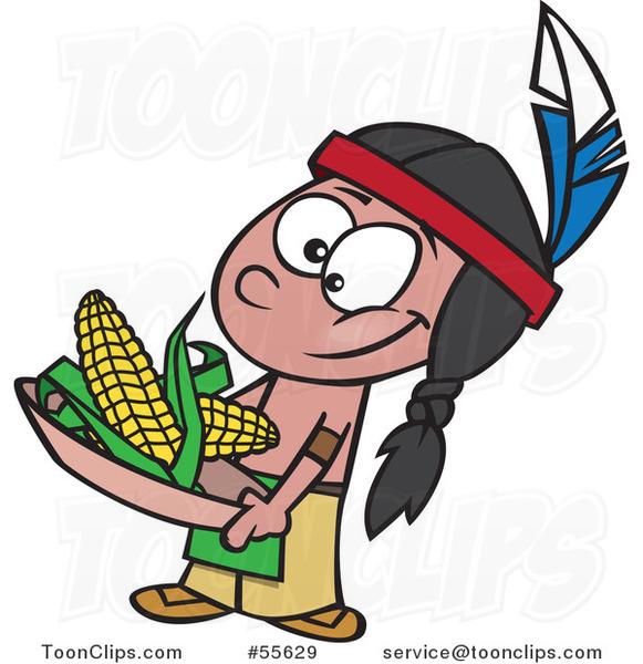581x600 Aztec Clipart Corn