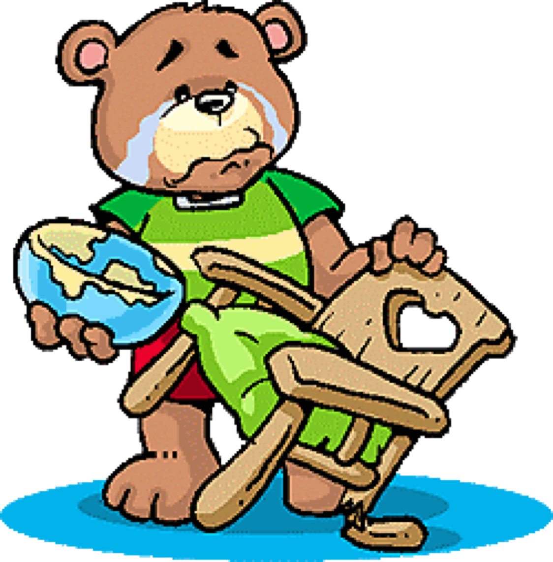1124x1142 Goldilocks And The Three Bears Cont'D (Adverbs) By