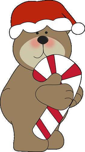 282x500 Holiday Bears Clipart