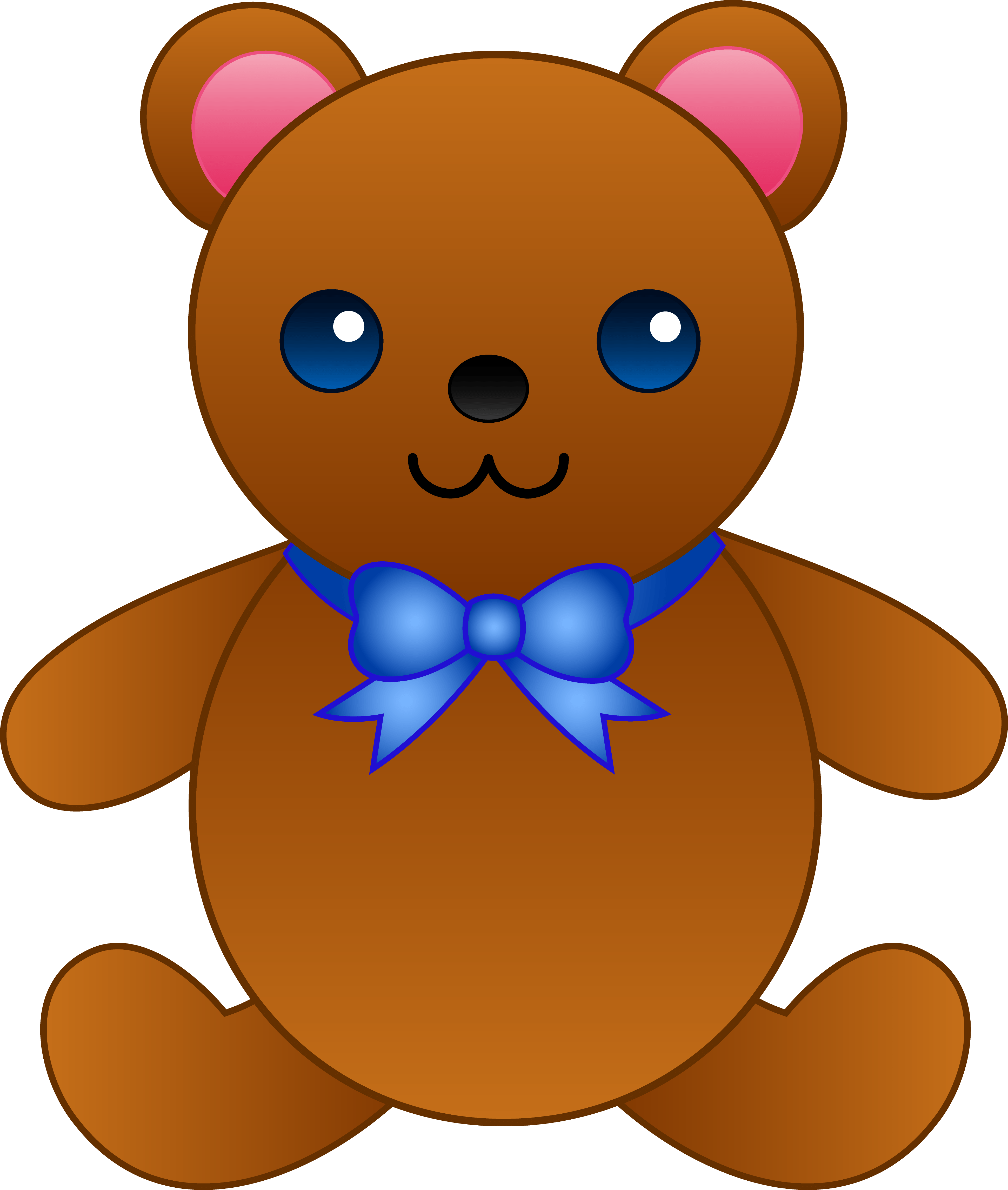 3881x4581 Kindergarten Bear Cliparts