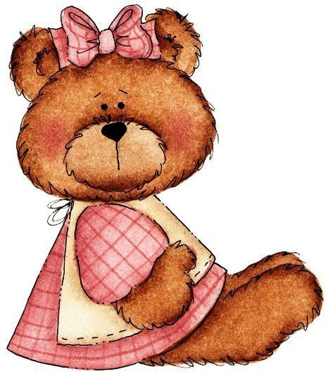 466x531 May Girl Decoupage Amp Clip Art Girls, Bears