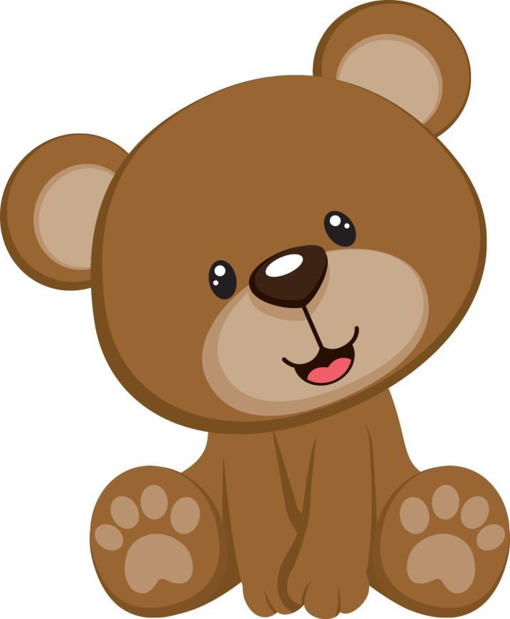 717x870 Nice Looking Baby Bear Clipart Image Result For Teddy Clip Art
